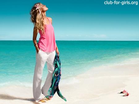 что одеть на пляж 2011