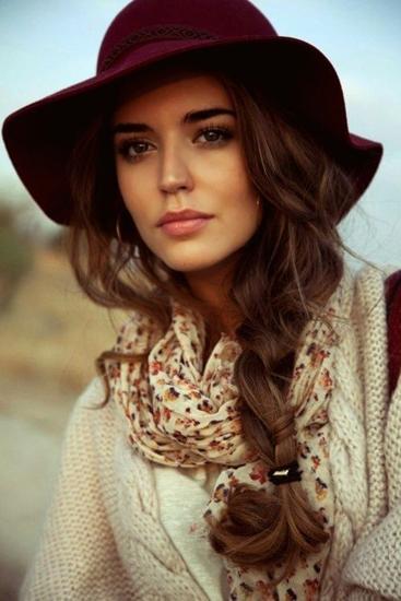 Модные шапки 2015