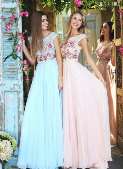 Выпускные платья 2017